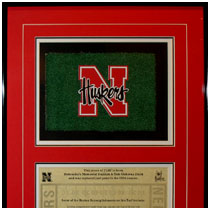Nebraska Cornhuskers - Tom Osborne Field - Memorial Stadium Turf