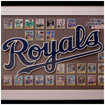 Kansas City Royals - 1985 World Series Team - Baseball Card Collection