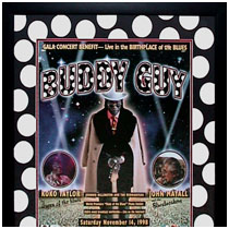 Buddy Guy - Gala Concert Benefit - Commemorative Poster