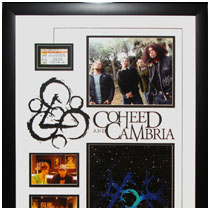 Coheed and Cambria - Photos, Concert Ticket & Autographed Photo