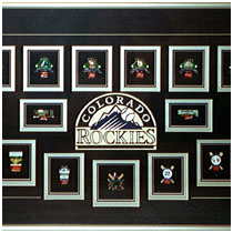 Colorado Rockies - 1998 All Star Game - Commemorative Pins