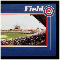 Chicago Cubs - Wrighley Field Commemorative Poster - Day