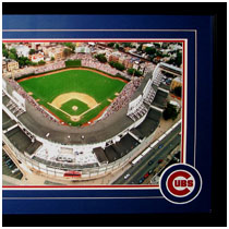 Chicago Cubs - Wrighley Field Commemorative Poster