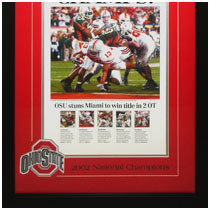 Ohio State Buckeyes - 2002 National Championship - Commemorative Poster
