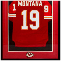 Joe Montana - NFL Hall of Famer - Kansas City Chiefs - Autographed Football Jersey