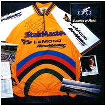 Greg LeMond - Tour De France Winner - Autographed Cycling Jersey